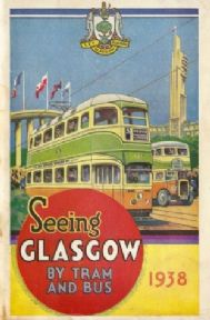 Vintage Scottish poster - Seeing Glasgow